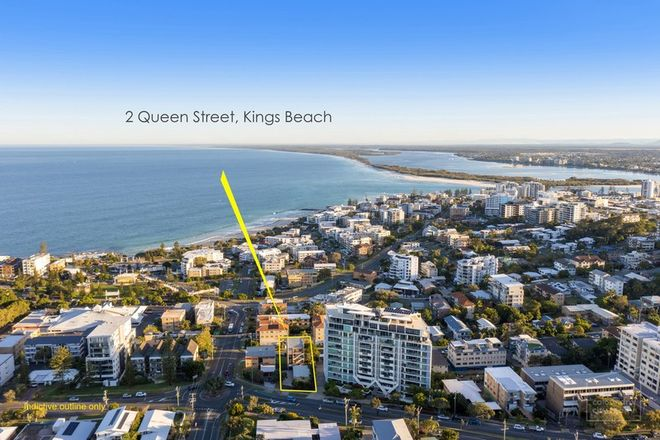 Picture of 2 Queen Street, KINGS BEACH QLD 4551