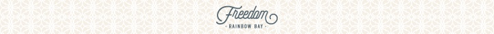 Branding for Freedom Rainbow Bay