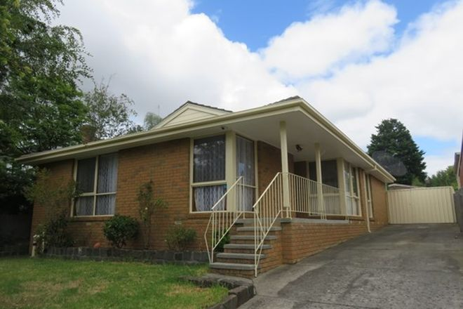 Picture of 105 Murrindal Drive, ROWVILLE VIC 3178