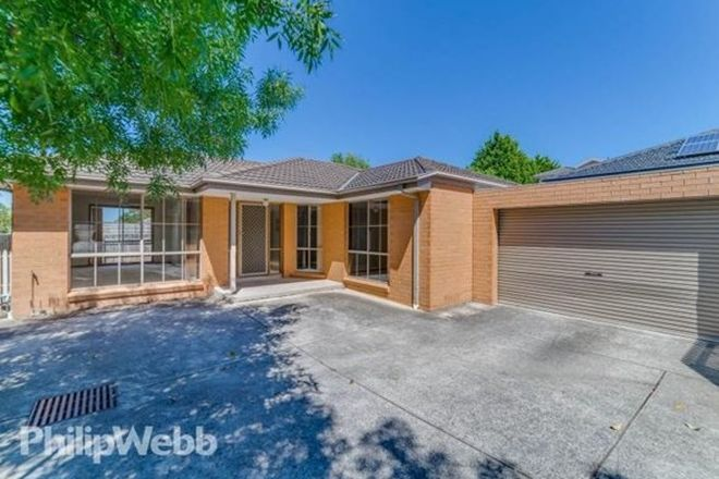 Picture of 2/18 Sonia Street, DONVALE VIC 3111