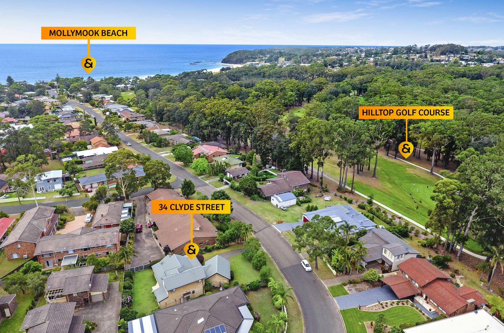 34 Clyde Street, Mollymook Beach NSW 2539, Image 1