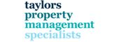 Logo for Taylors Property Management Specialists