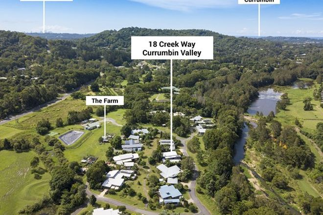 Picture of 18 Creek Way, CURRUMBIN VALLEY QLD 4223