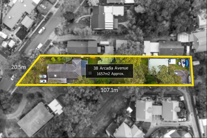 Picture of 38 Arcadia Avenue, THE BASIN VIC 3154