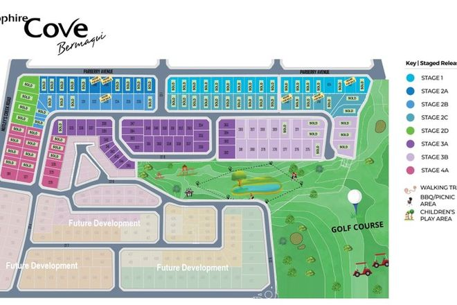 Picture of 1 or 2/Lot 104 Parbery Ave, BERMAGUI NSW 2546