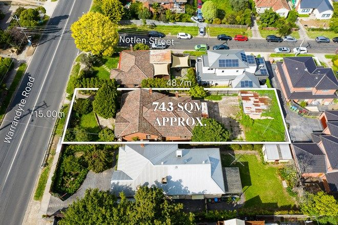Picture of 57 Warrandyte  Road, RINGWOOD VIC 3134