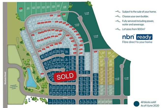 Picture of Lot 257 The Springs, NIKENBAH QLD 4655