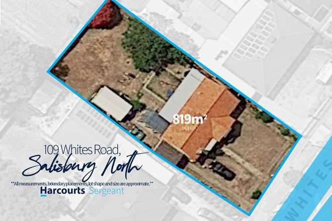 Picture of 109 Whites Road, SALISBURY NORTH SA 5108
