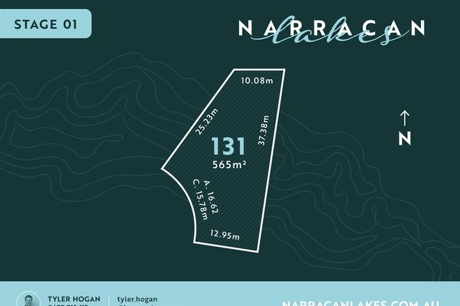 Picture of Lot 131 Narracan Lakes, NEWBOROUGH VIC 3825