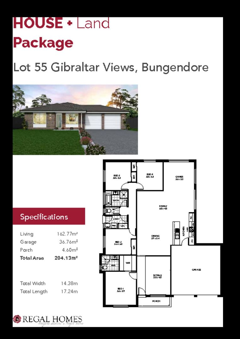 Lot 55/Lot 55 Hopkins Street, Bungendore NSW 2621, Image 0