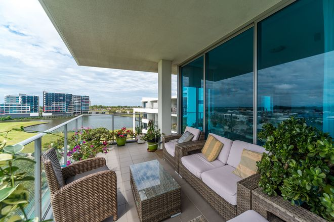 Picture of 511/41 Harbour Town Drive, BIGGERA WATERS QLD 4216
