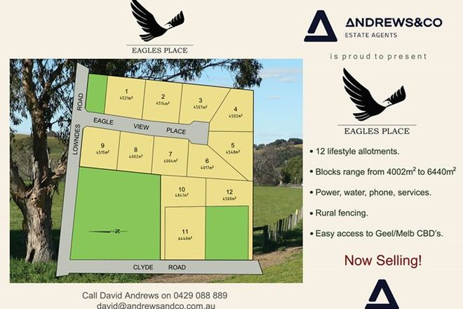 Picture of Lot 1 Eagles Place, BANNOCKBURN VIC 3331