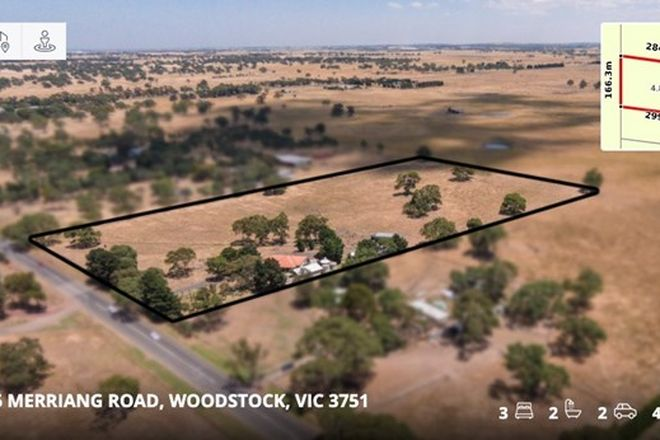Picture of 1105 Merriang Road, WOODSTOCK VIC 3751