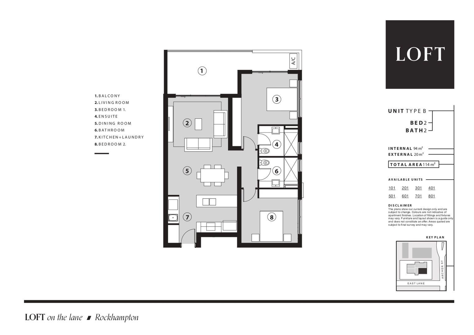 101/12 Archer Street, Rockhampton City QLD 4700, Image 1