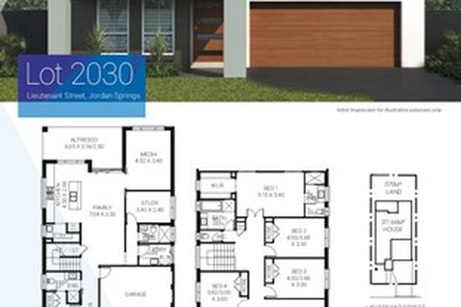 Picture of Lot 2030 Lieutenant Street, JORDAN SPRINGS NSW 2747