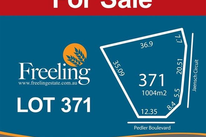 Picture of Lot 371 Pedler Boulevard, FREELING SA 5372