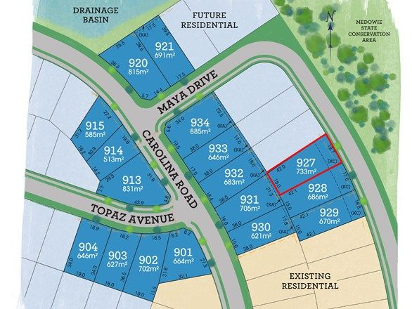 Picture of Lot 927 Maya Drive, Medowie