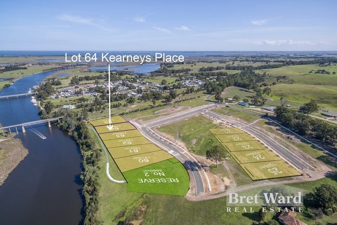 Picture of Lot 64 Kearneys Place, NICHOLSON VIC 3882