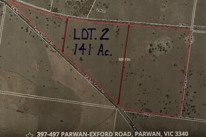 Picture of Lot 2, 397-497 Parwan-Exford Road, PARWAN VIC 3340