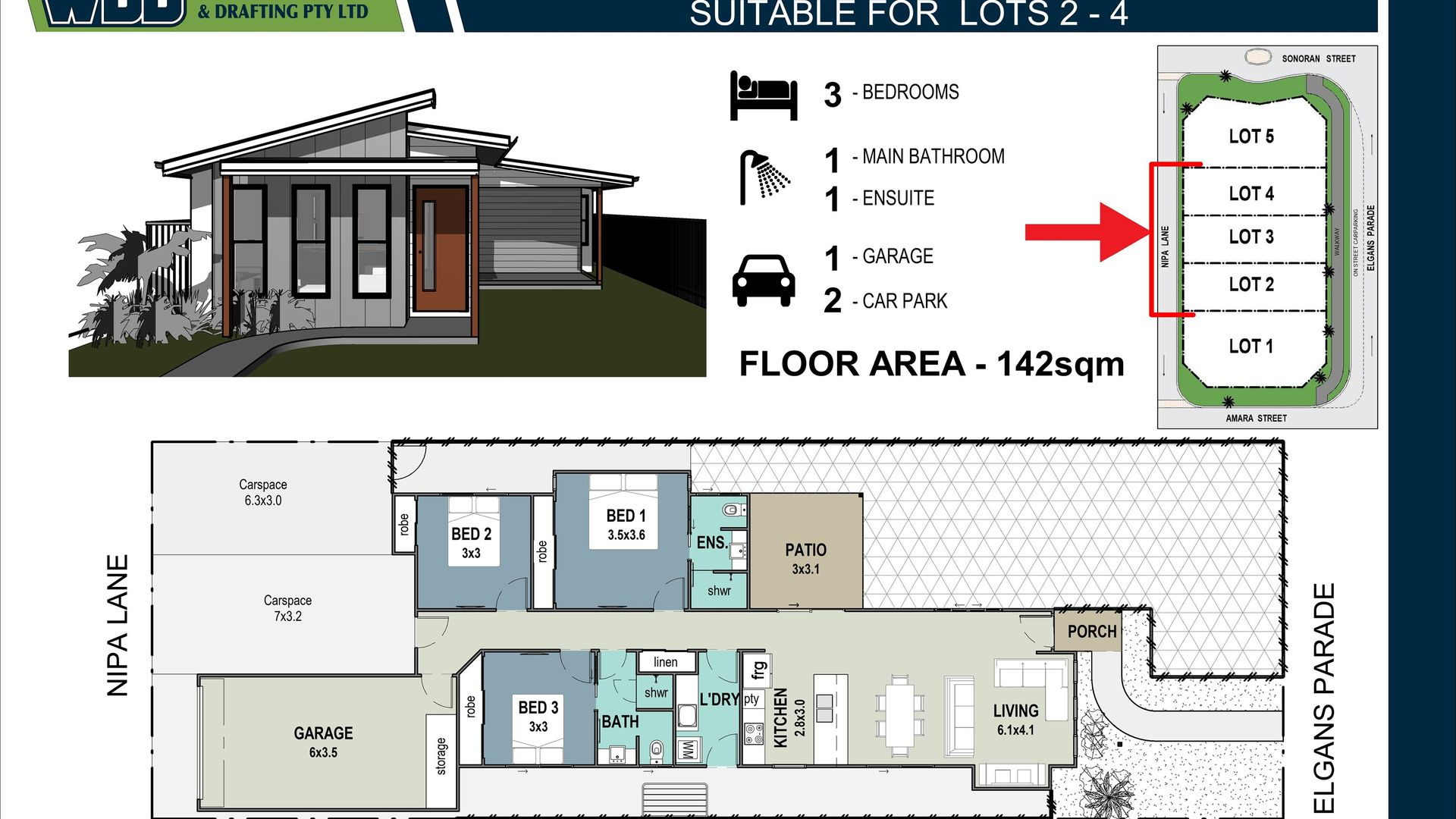 Lot 4 25-27 Sonoran Street, Rural View QLD 4740, Image 2