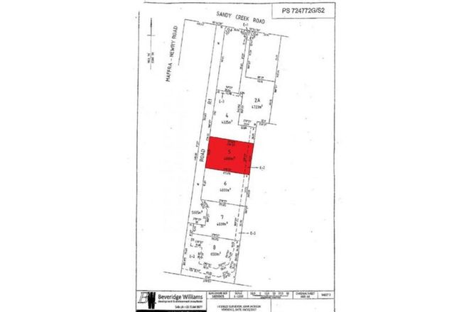 Picture of Lot 5 Sandy Creek Road, MAFFRA VIC 3860