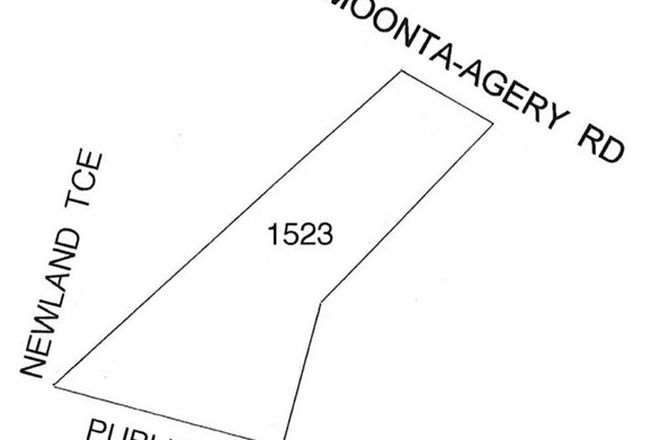 Picture of Section 1523 Newland Terrace, EAST MOONTA SA 5558