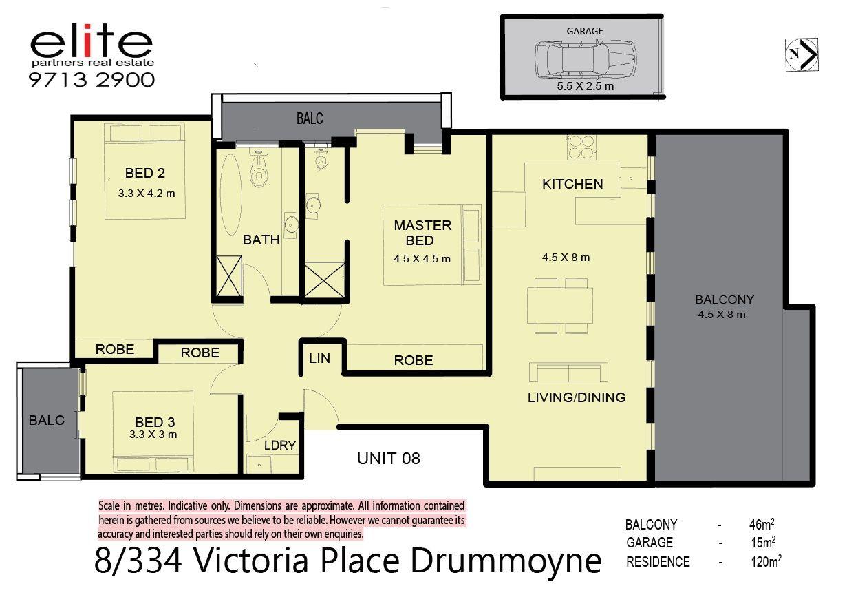 8/334 Victoria Place, Drummoyne NSW 2047, Image 6