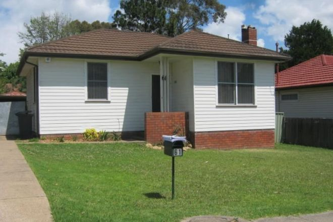 Picture of 61 CHAMBERLAIN STREET, CAMPBELLTOWN NSW 2560