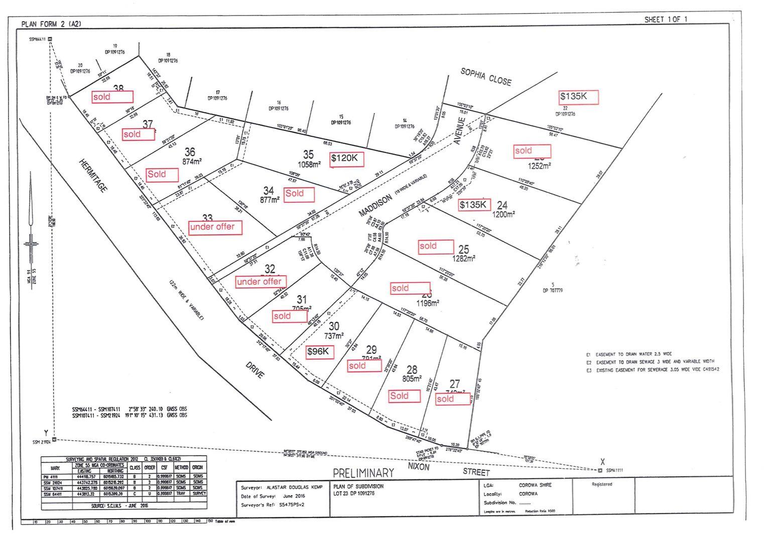 Lot 30 Maddison Avenue, Corowa NSW 2646, Image 0