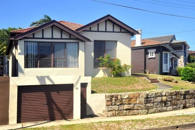 Picture of 36 Mons Avenue, MAROUBRA NSW 2035