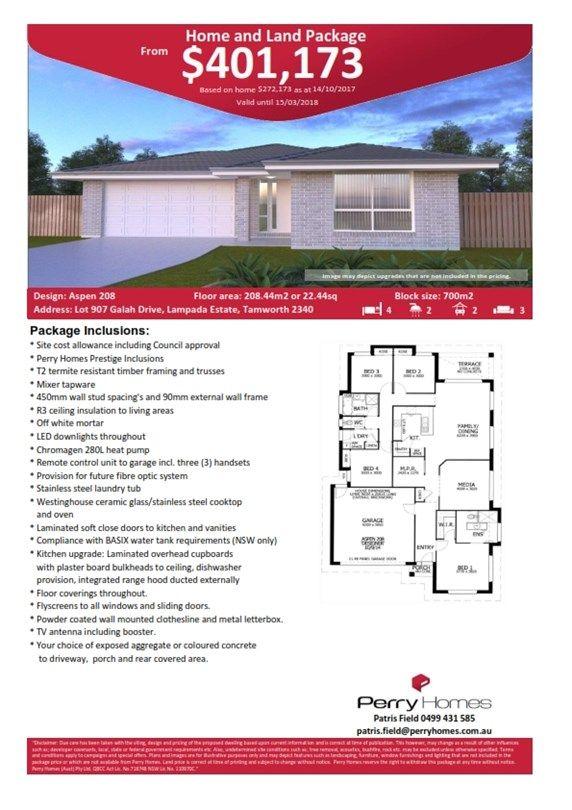 Lot 907 Galah Drive, Tamworth NSW 2340, Image 1