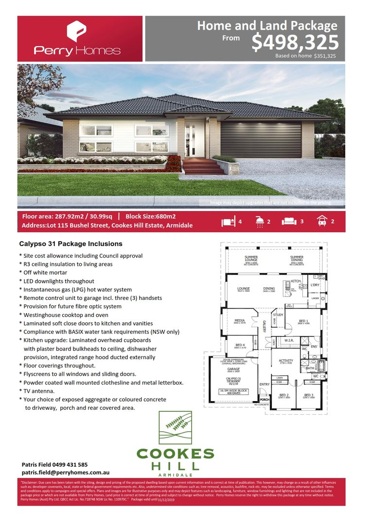 Lot 115 Bushel Street, Armidale NSW 2350, Image 1
