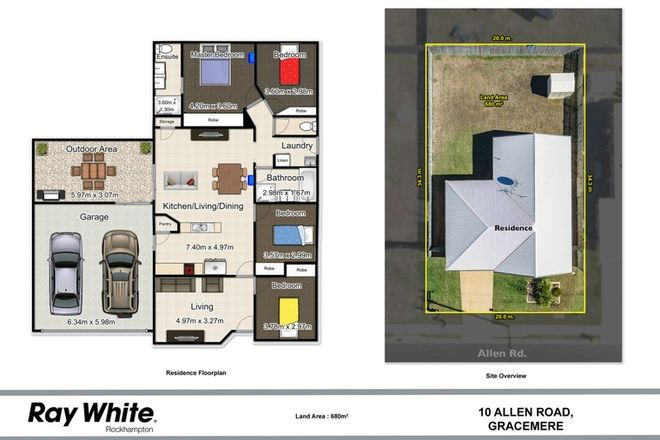Picture of 10 Allen Road, GRACEMERE QLD 4702