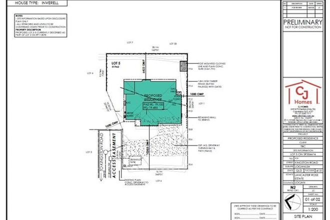 Picture of Lot 5 Kingston Road (Lancaster Rose Estate), LOGANLEA QLD 4131
