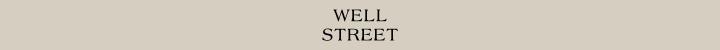 Branding for Well Street