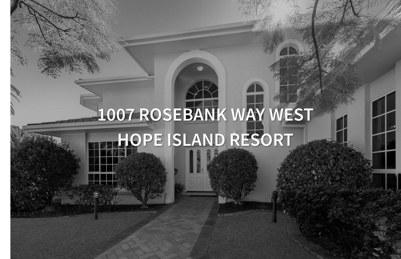 1007 Rosebank Way West, Hope Island QLD 4212, Image 2