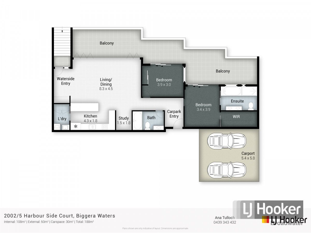 2002/5 Harbour Side Court, Biggera Waters QLD 4216, Image 2