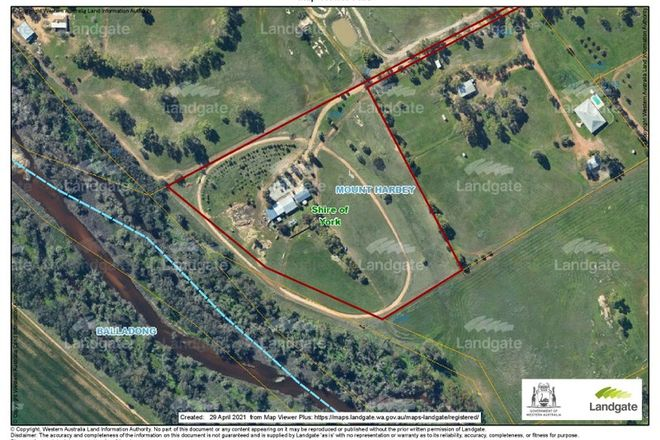 Picture of 2147 Top Beverley Rd, YORK WA 6302