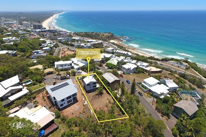 Picture of 3 Maxwell Court, COOLUM BEACH QLD 4573
