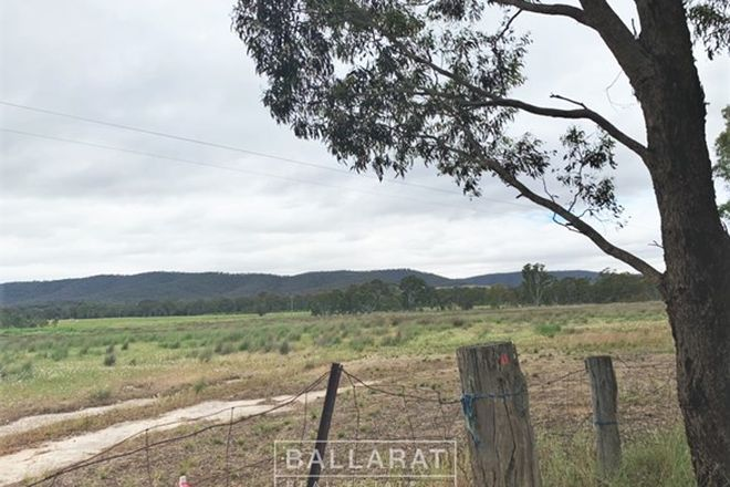 Picture of 121 Stawell-Avoca Road, MOONAMBEL VIC 3478