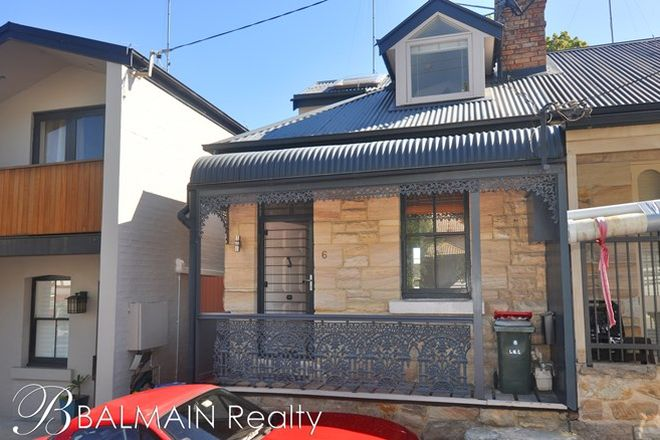 Picture of 6 Rosser Street, ROZELLE NSW 2039