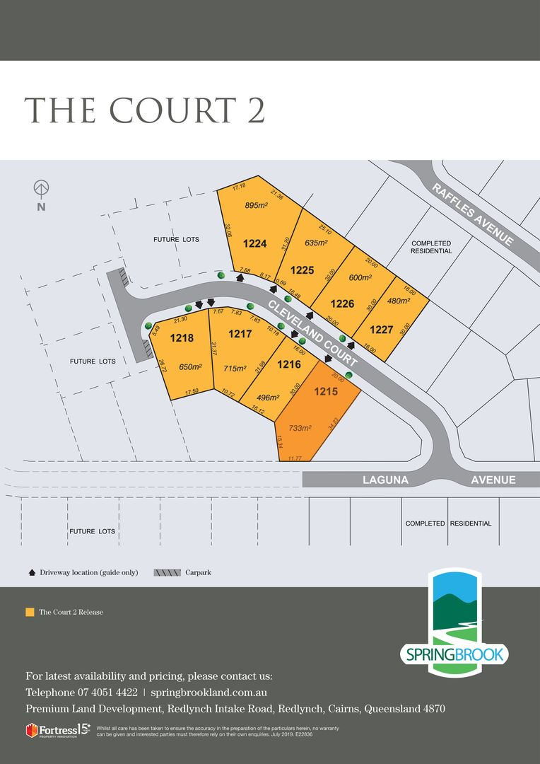 Lot 1215 Cleveland Court, Redlynch QLD 4870, Image 2