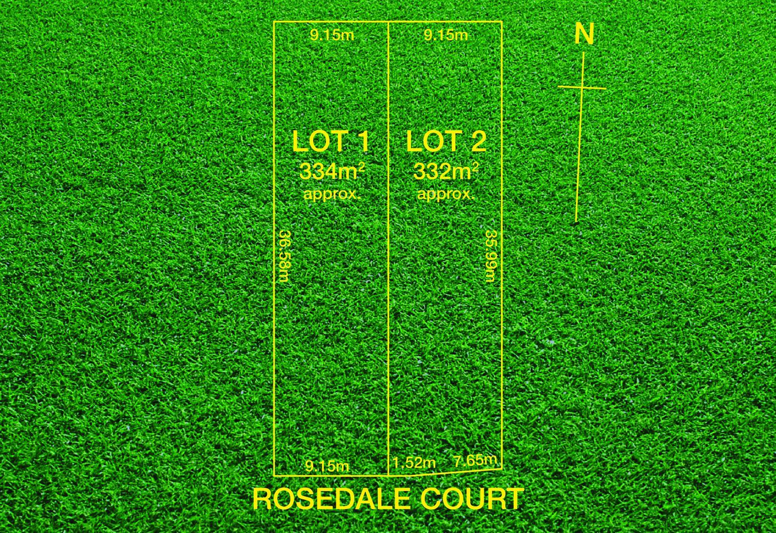 Lot 1&2/3 Rosedale Court, Newton SA 5074, Image 0