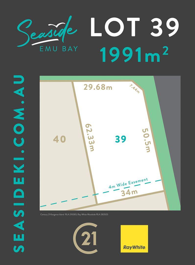 Lot 39 Starfish Drive, Emu Bay SA 5223, Image 0