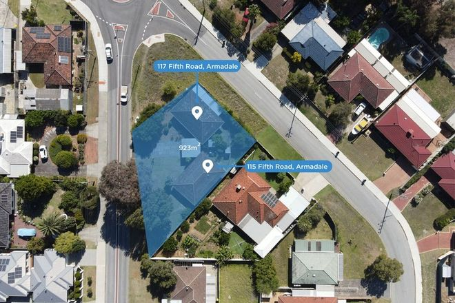 Picture of 115B & 117 Fifth Road, ARMADALE WA 6112