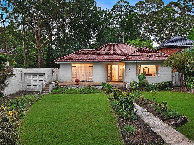 4 Mahratta Avenue, Wahroonga NSW 2076, Image 0