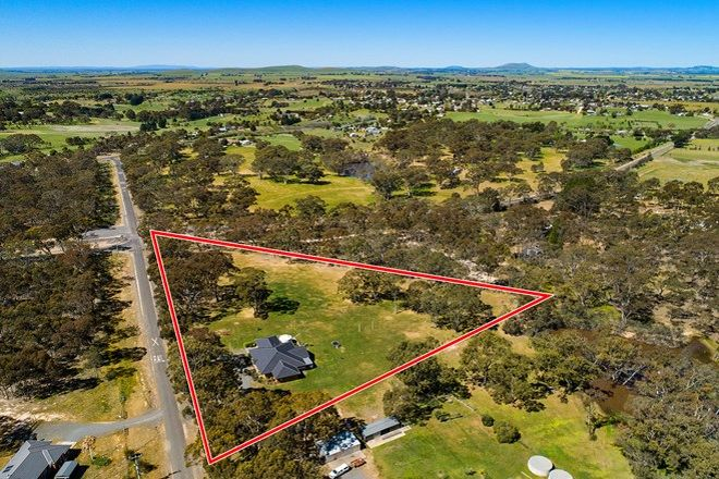 Picture of 25 Cemetery Road, CLUNES VIC 3370