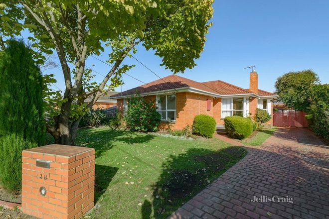 Picture of 38 Ireland Avenue, DONCASTER EAST VIC 3109