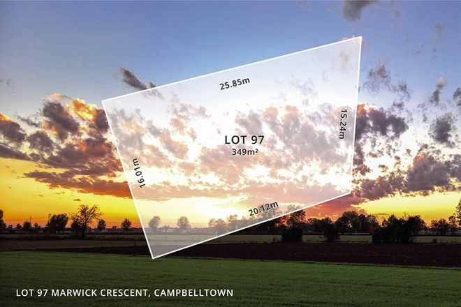 Picture of Lot 97 MARWICK CRESCENT, CAMPBELLTOWN SA 5074