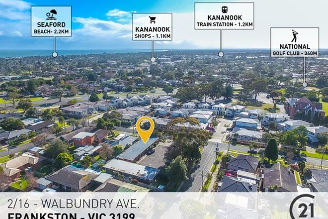 Picture of 2/16-18 Walbundry Avenue, FRANKSTON VIC 3199